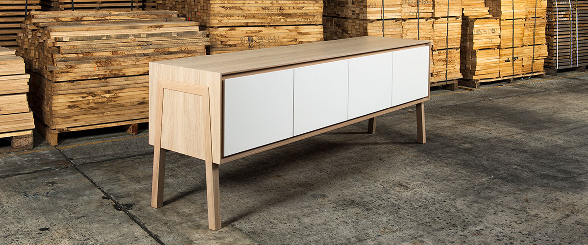 Kasaan - Thothem, natural oak furniture